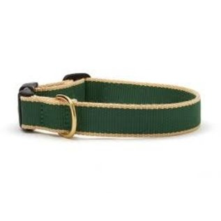 Up Country Up Country Dog Collar Forrest/Tan Bamboo Size 12