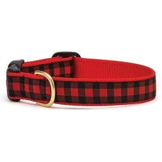 Up Country Up Country Dog Collar Buffalo Check Size 10