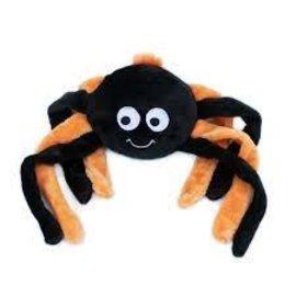 Zippy Paws Zippy Paws Halloween Orange Spider