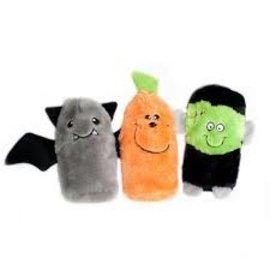 Zippy Paws Zippy Paws Halloween Squeakie Buddies 3 pack
