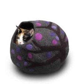 Friendsheep Friendsheep Cat Cave Purple Rain w/ Catnip