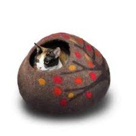 Friendsheep Friendsheep Cat Cave Orange Crush w/ Catnip
