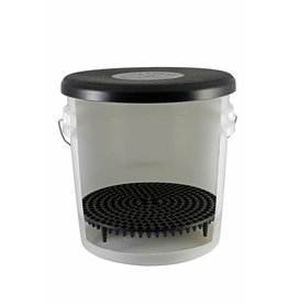Chemical Guys DIRTTRAP01 Cyclone Dirt Trap-Car Wash Bucket Insert, Black Color, (1 Unit)