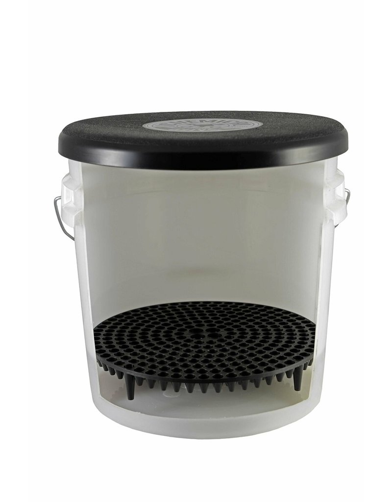 Chemical Guys DIRTTRAP01 Cyclone Dirt Trap-Car Wash Bucket Insert, Black Color, (1 Unit)