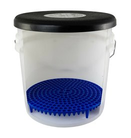 Chemical Guys DIRTTRAP03 Cyclone Dirt Trap-Car Wash Bucket Insert, Blue Color, (1 Unit)