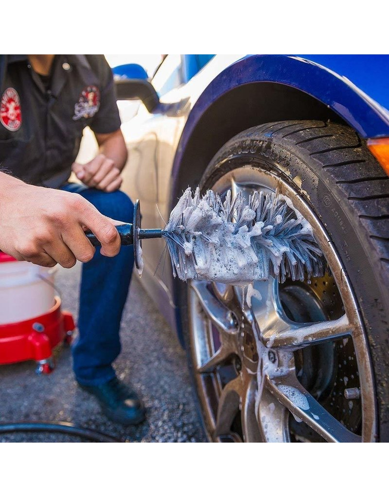 Chemical Guys ACCS37 Easy Reach Wheel and Rim Detailing Brush