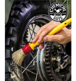 "Chemical Guys ACCS91 The Best Detailing Brush-1"" Boars Hair Round Soft Detailing Brush"