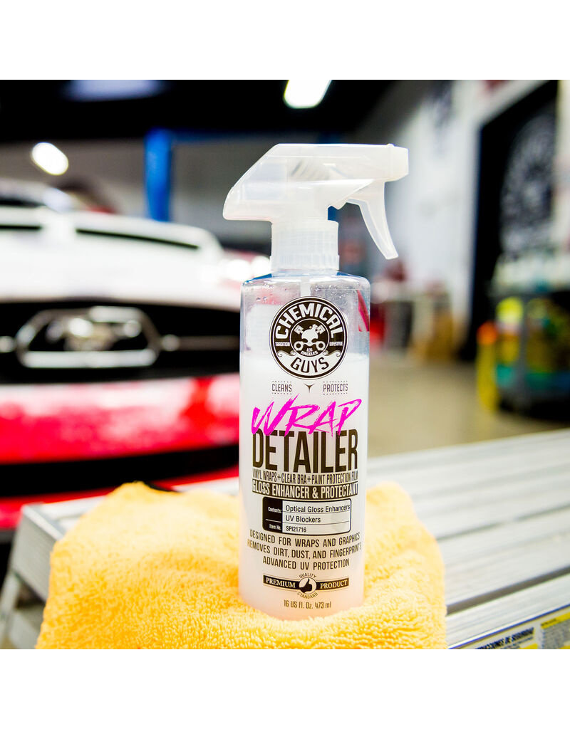 Chemical Guys SPI21716 Wrap Detailer Gloss Enhancer & Protectant (16 oz)