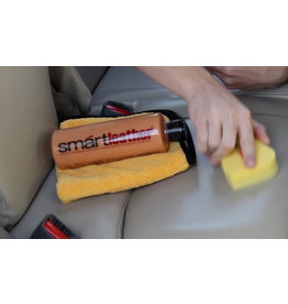 SmartWax 30100 Smartleather - Premium Leather Cleaner & Conditioner (w/Leather Scent) - 16oz