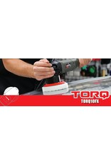"TORQ Tool Company TORQ10FX - TORQ Polishing Machines - 120V/60Hz With TORQ 5"" Backing Plate"