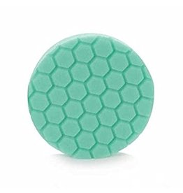 "Hex-Logic BUFX_103HEX4 4 "" Hex-Logic Pad Green Light Cut-Heavy Polish Minor Scratch & Swirl Remover Pad- 4""Inch)"