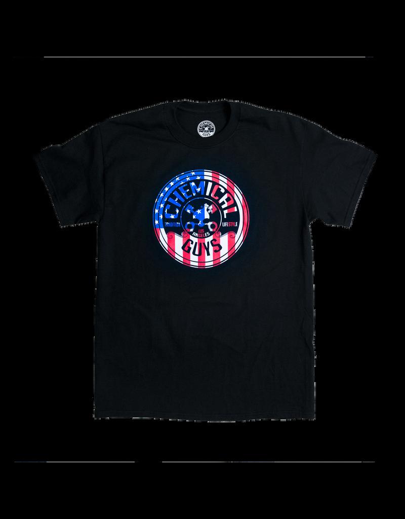 Chemical Guys SHE721 American Stars & Stripes Chemical Guys T Shirt (XXL)