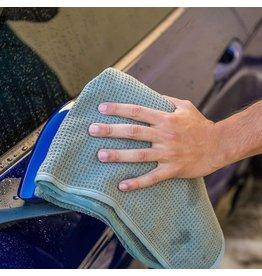 "Chemical Guys MIC_781_01 Gray Matter Silk Effect Super Soft Microfiber Waffle Weave Dryer Towel (36"" X 25"")"