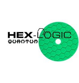"Hex-Logic BUFX113HEX6 Hex-Logic Quantum Buffing Pad -Green -6.5"""