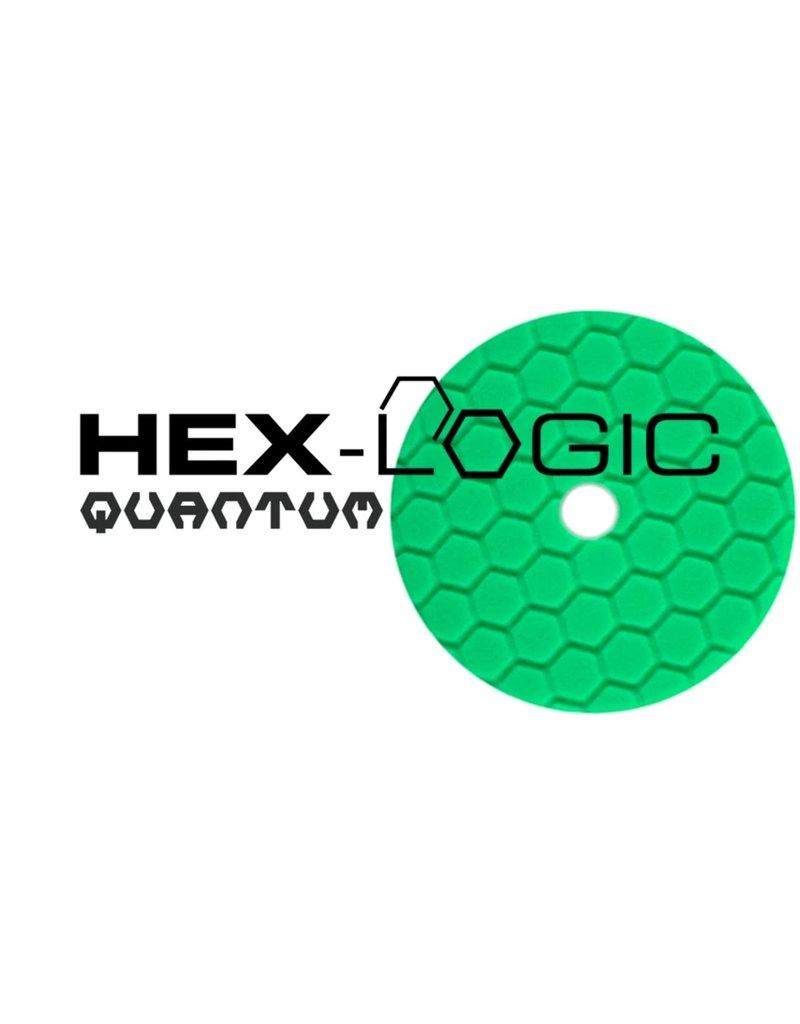 "Hex-Logic BUFX113HEX5 Hex-Logic Quantum Buffing Pad -Green -5.5"""