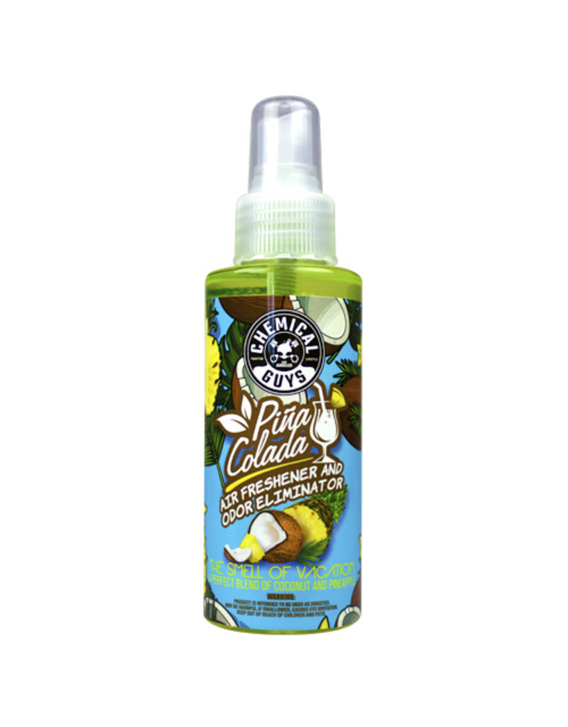 Chemical Guys AIR22904 Pina Colada Air Freshener and Odor Eliminator, 4 fl. oz