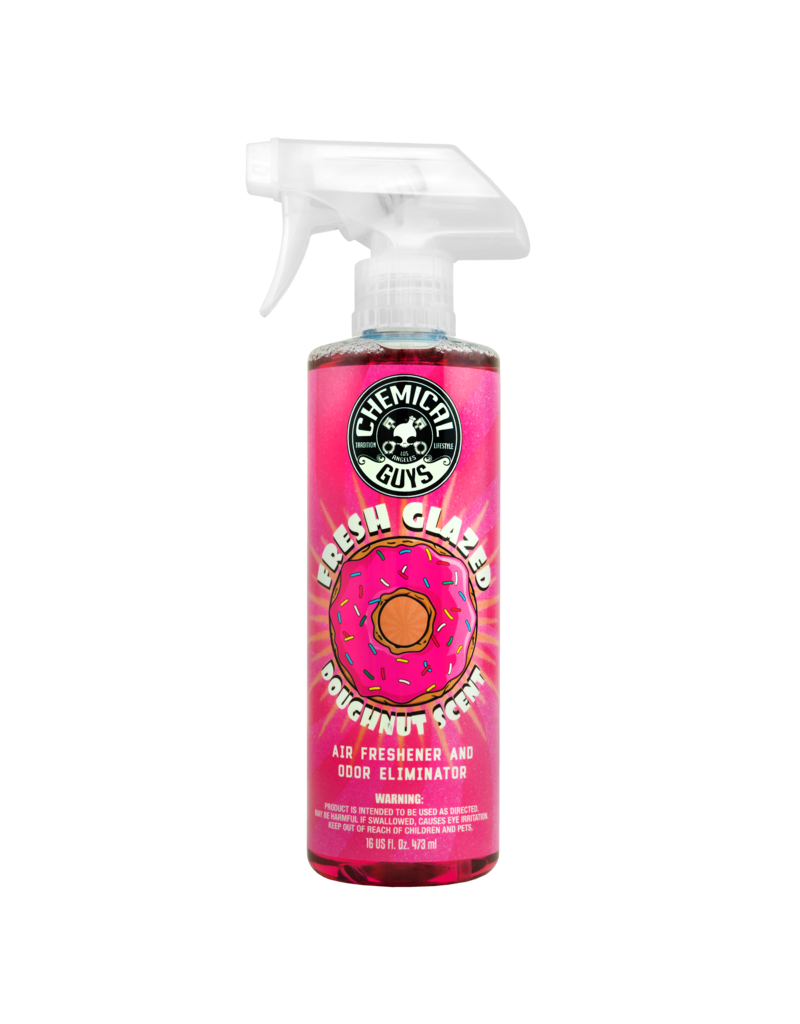 Chemical Guys AIR23316 Fresh Glazed Doughnut Scent Premium Air Freshener and Odor Eliminator (16 oz)