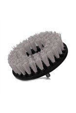 Chemical Guys ACC_201_BRUSH_S Carpet Brush w/ Drill Attachment, Super Soft Gray Color.