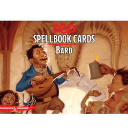 Gale Force 9 Dungeons and Dragons RPG: Bard Spell Deck (120 cards)