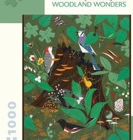 Pomegranate Charley Harper: Woodland Wonders  1000pc Pomegranate Jigsaw Puzzle
