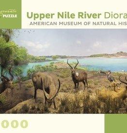 Pomegranate Upper Nile River Diorama 1000-Piece Jigsaw Puzzle
