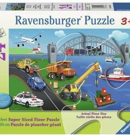 Ravensburger A Day on the Job 24pc Floor Puzzle