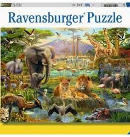 Ravensburger Animals of the savanna 200pc Ravensburger Puzzle