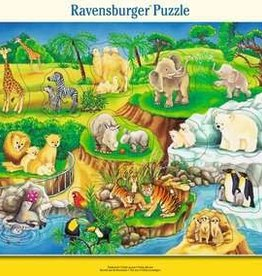 Ravensburger The Zoo 14pc Ravensburger Jigsaw Puzzle