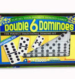 University Games Double 6 Dominoes, Prof. Size, University Games