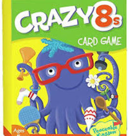 Peacable Kingdom CRAZY 8S CARD GAME
