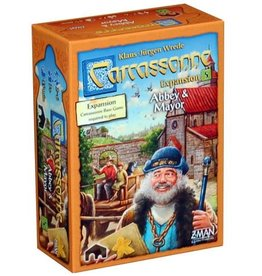 Z-Man Carcassonne: Expansion 5 - Abbey and Mayor