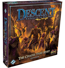 "Fantasy Flight DESCENT SECOND EDITION: JOURNEYS IN THE DARK ""THE CHAINS THAT RUST"" EXPANSION"