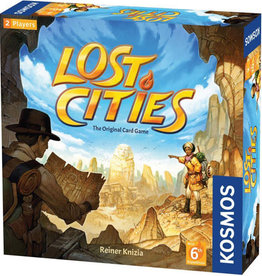 Thames and Kosmos Lost Cities Card Game with 6th Expedition