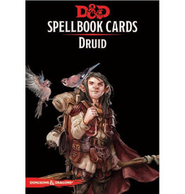 Gale Force 9 Dungeons and Dragons RPG: Spellbook Cards - Druid