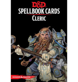 Gale Force 9 Dungeons and Dragons RPG: Spellbook Cards - Cleric Deck (149 cards)