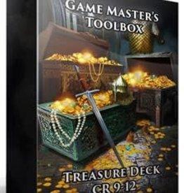 Game Masters Toolbox: Treasure Deck CR 9-12