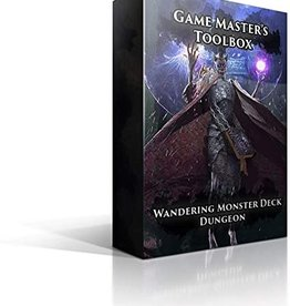 Game Masters Toolbox: Wandering Monster Deck - Dungeon