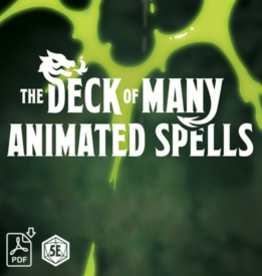 The Deck of Many Animated Spells: Level 2, Volume 1