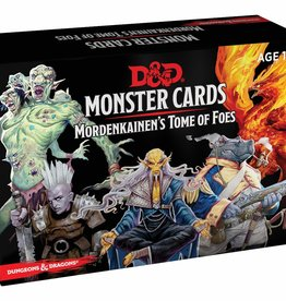 Dungeons and Dragons RPG: Monster Cards - Mordenkainen's Tome of Foes (109 cards)