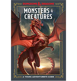Dungeons & Dragons RPG: A Young Adventurer`s Guide - Monsters and Creatures (Hardcover)