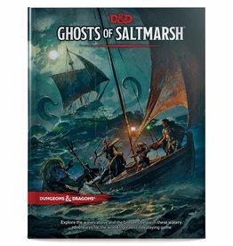 Dungeons & Dragons DUNGEONS AND DRAGONS 5E: GHOSTS OF SALTMARSH ADVENTURE MODULE