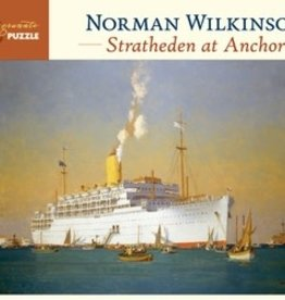 Pomegranate NORMAN WILKINSON: STRATHEDEN AT ANCHOR 1,000-PIECE JIGSAW PUZZLE