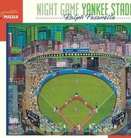 Pomegranate Ralph Fasanella: Night Game Yankee Stadium 1,000-piece Jigsaw Puzzle