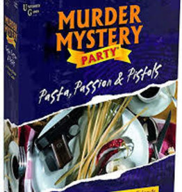 University Games Murder Mystery Party: Pasta, Passion, Pistols