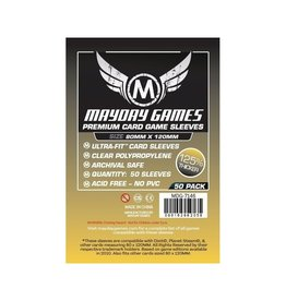Mayday Premium Magnum Gold Sleeve: 80 mm X 120 mm Card Sized -`Dixit` (50)