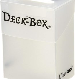Ultra Pro Ultra Pro Basic Deck Box: Solid Clear