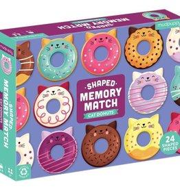 Cat Donut Shaped Memory Match