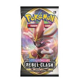 Pokemon: Sword & Shield 2: Rebel Clash Booster Pack