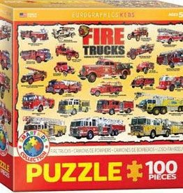 Eurographics Fire Trucks 100pc