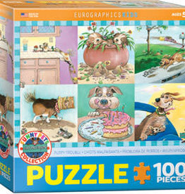Eurographics Puppy Trouble by Gary Patterson 100pc